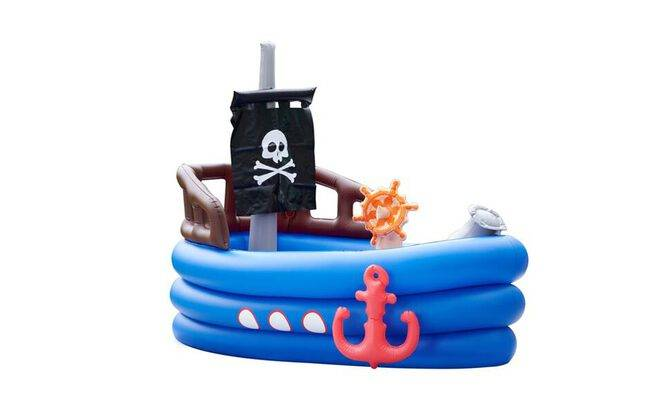 Piscine enfant Teamson Kids Bateau Pirate