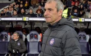 Denis Zanko, l'entraîneur du TFC, lors du match de Ligue 1 contre Brest au Stadium, le 11 janvier 2020.