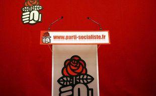 Le siège du parti socialiste, rue de Solférino à Paris.