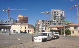 Plus de 5000 logements sont prévus sur ce quartier.