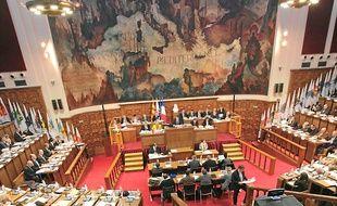 Le conseil métropolitain a voté son budget 2013, le 29 mars (archives).