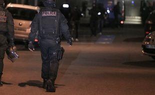 Des policiers en intervention (illustration)