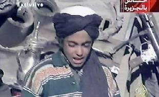 Hamza ben Laden, le fils de Oussama ben Laden, le 7 novembre 2001.