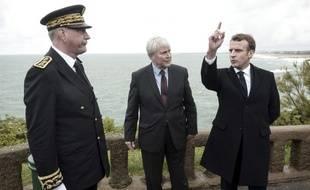 Emmanuel Macron à Biarritz, le 17 mai 2019.