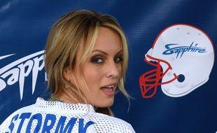 L'actrice de films porno Stormy Daniels à Las Vegas, le 4 février 2018.