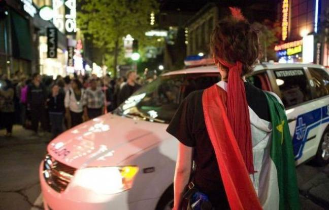 Des affrontements ont opposé vendredi soir dans les rues du centre-ville de Montréal de petits groupes de manifestants radicaux aux forces de l'ordre, autour des festivités du Grand Prix de formule 1 du Canada.