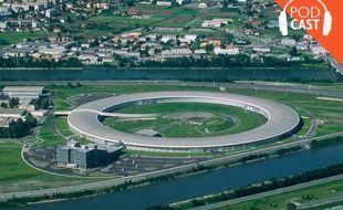 Le synchrotron de l'ESRF, à Grenoble.