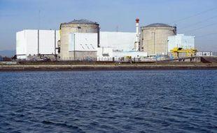 La centrale nucléaire de Fessenheim le 18 mars 2014
