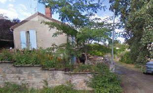 La maison de Saint-Benoît-de-Carmaux où ont été faites les macabres découvertes.