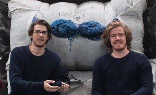 Mathieu Couacault et Clément Maulavé, les deux fondateurs de la marque toulousaine Hopaal.