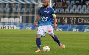 Milovan Sikimic lors du match RCS-Colmar, le 28 juin 2014.