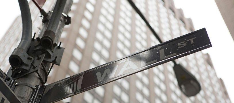 La bourse de Wall Street.