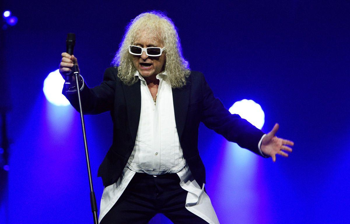 Michel Polnareff en concert, en avril 2016. – Bertrand GUAY / AFP