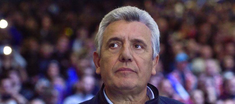 Claude Onesta, ici lors des Mondiaux de handball 2017.