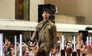 Le chanteur Joe Jonas