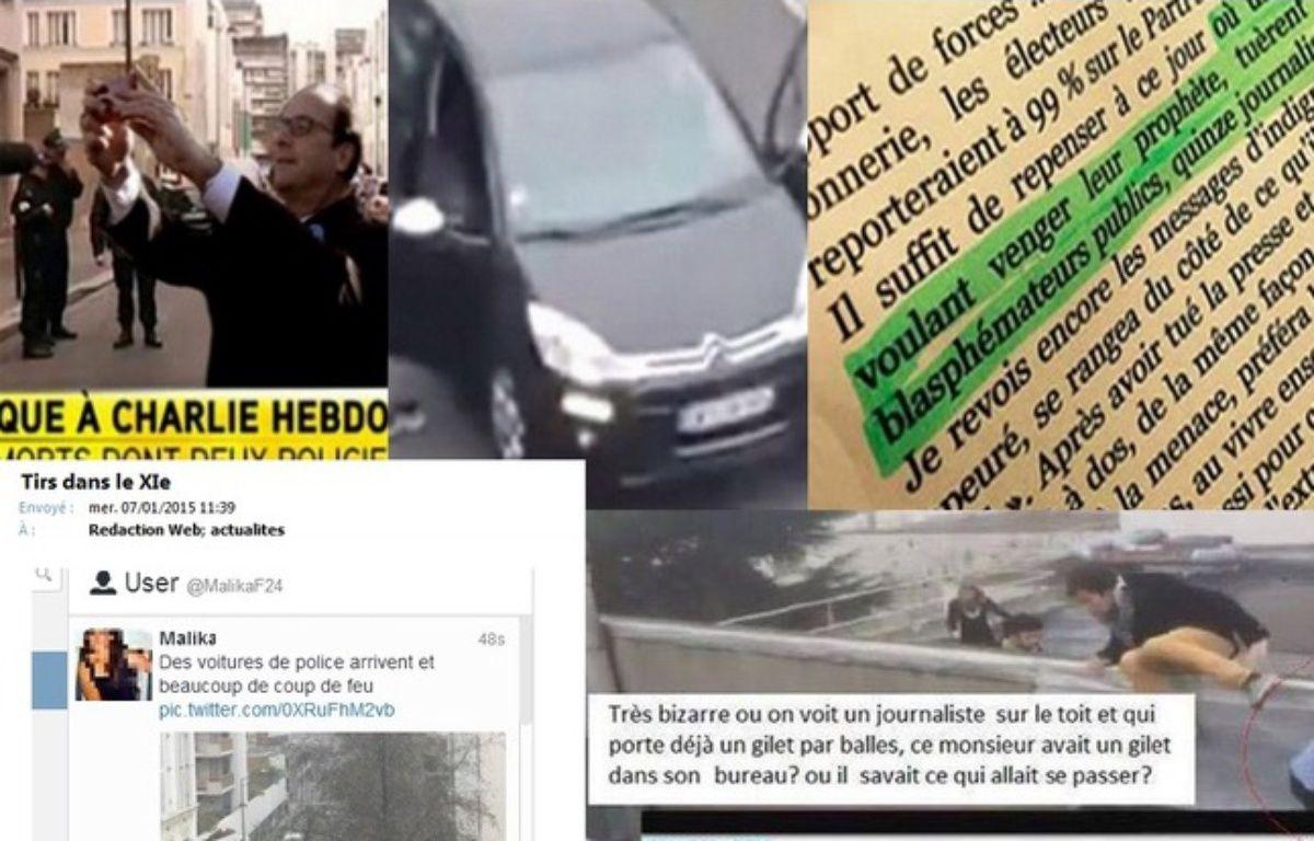 """Les fausses informations envahissent le web après l'attentant perpétré contre """"Charlie Hebdo"""". – 20Minutes"""
