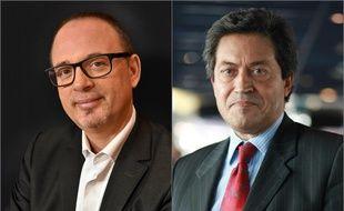Yann Galut, député PS) (à gauche) et Georges Fenech, député (LR).