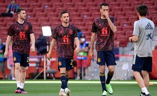 Euro 2021: Tous les joueurs espagnols testés négatifs au Covid-19 après l'infection de Busquets (ARchives)