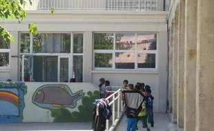 Une école à Marseille (phot d'illustration)