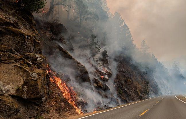 Le Camp Fire continue de brûler au nord de Paradise.