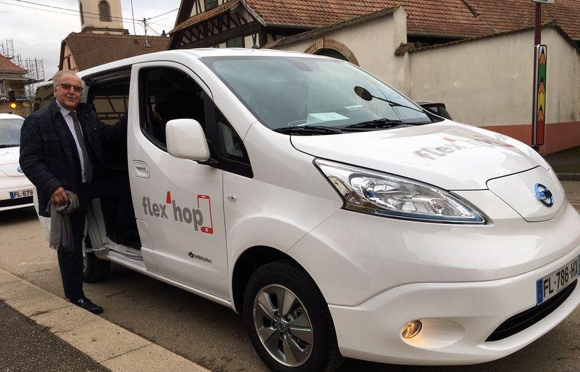 On a testé « flex'hop », le nouveau transport à la demande mis en place dans les communes autour de Strasbourg