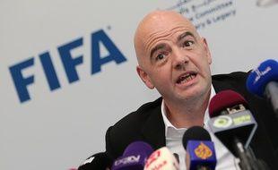 Gianni Infantino, président de la Fifa