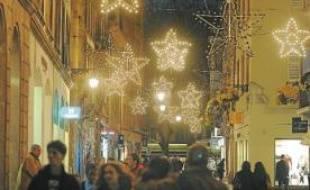 Les rues strasbourgeoises seront illuminées dès vendredi.