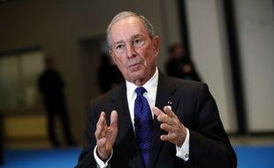 Michael Bloomberg, le 12 décembre 2017 à Paris.