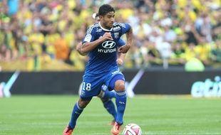 Le milieu offensif de l'OL Nabil Fekir.