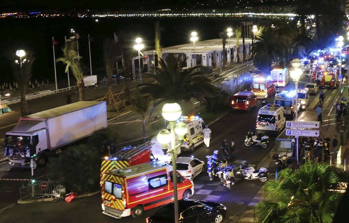 La promenade des Anglais de Nice après l'attentat –  Sasha Goldsmith/AP/SIPA