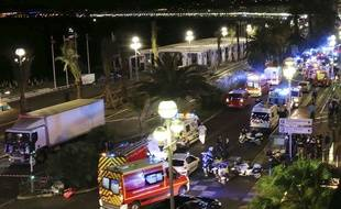 La promenade des Anglais de Nice après l'attentat