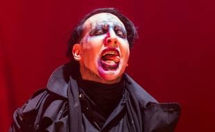 Le chanteur Marilyn Manson