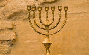Photo prise dans la synagogue médiévale du vieux quartier juif de Cordou (Espagne).