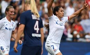 Amel Majri avait inscrit le but de l'OL lors du Trophée des championnes, en septembre contre le PSG (1-1, 4-3 aux tirs au but).