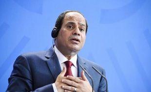 Le président égyptien, Abdel Fattah al-Sissi, le 3 juin 2015 à Berlin