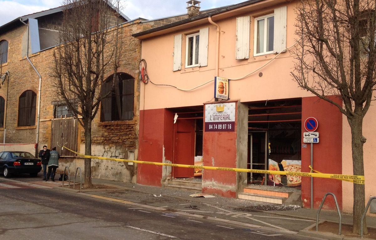 Attaque contre un kebab voisin de la mosquée de Villefranche-sur-Saône le 8 janvier – Elisa Riberry / 20 Minutes