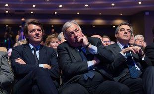 François Baroin, Gérard Larcher et une quinzaine de cadres des Républicains (LR) et de l'UDI ont signé dans Le Figaro une tribune de soutien à François Fillon.