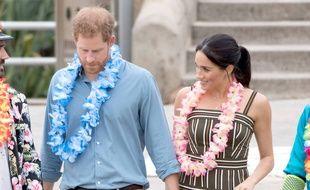 Le prince Harry et Meghan, duchesse de Sussex, en Australie