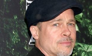 Brad Pitt à l'avant-première de The Lost City of Z