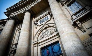 L'entrée de l'université Paris I Pantheon-Sorbonne.