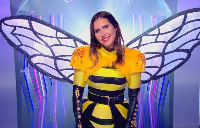 Joyce Jonathan était l'abeille dans Mask Singer