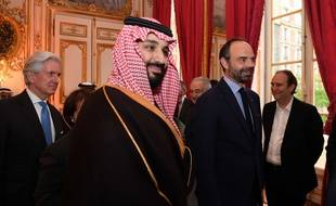 Mohammed ben Salmane, le 9 avril 2018 à Paris.