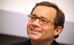 Jean-Luc Delarue à Quimper, le 24 févirer 2011.
