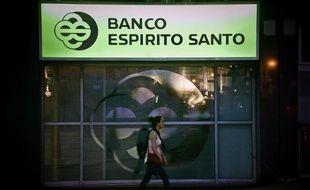 Le quartier général de la banque portugaise Banco Esperito Santo à Lisbonne, le 3 août 2014