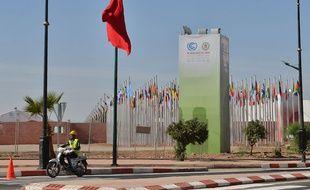 Le site de la COP22 à Marrakech, au Maroc.