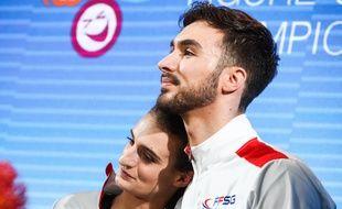 Guillaume Cizeron et Gabriella Papadakis ont remporté la médaille d'argent en danse sur glace lors des JO d'hiver 2018 de Pyeongchang.