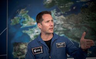 Thomas Pesquet, le 17 juin 2019, au Salon internationale de l'aéronautique et de l'espace du Bourget.