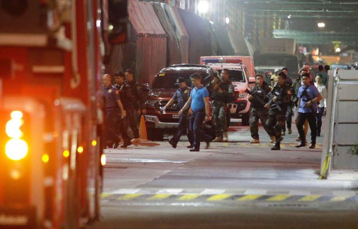 Un homme armé a ouvert le feu dans un casino de Manille, le 2 juin 2017. – Aaron Favila/AP/SIPA