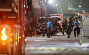 Un homme armé a ouvert le feu dans un casino de Manille, le 2 juin 2017.