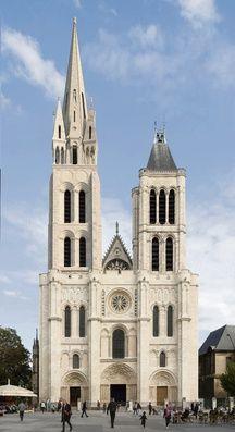 La reconstitution en 3D du futur visage de la basilique Saint-Denis.